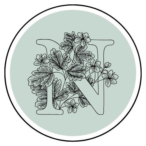 logo, blogger, writer, writing, poet, flowers, madison kerlan, novelost, blog, icon, leaves, plants, letter